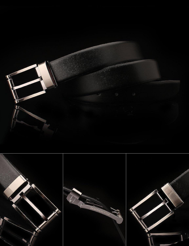 Demon/&Hunter PBL Series Mens Luxury Prong Buckle Belt P01700 No.I