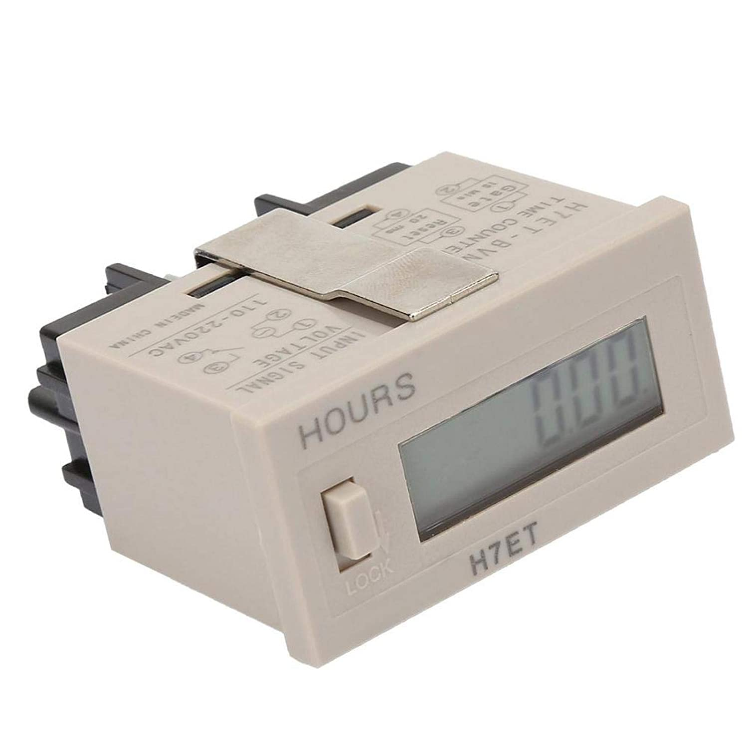 0.00 Minutes Counter Resettable for Intelligent Monitoring