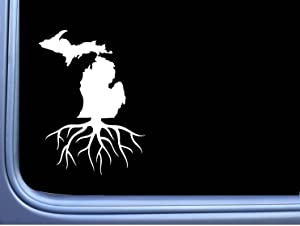 EZ-STIK Michigan Roots M253 6 inch Sticker Home State Decal