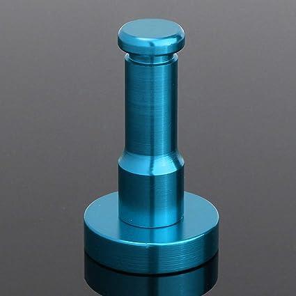 KIEYY Montado En La Pared Acabado En Aluminio Acabado De Color Caramelo Percha Toalla Abrigo Bata