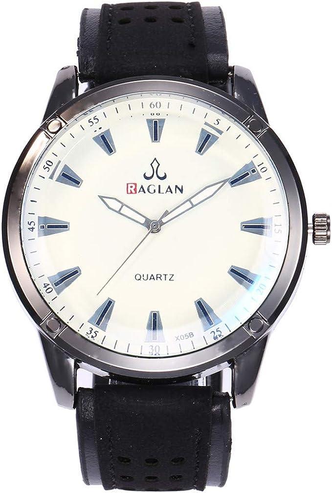 Waselia – Reloj de Hombre para Hombre de 36 mm de Grosor: Amazon ...
