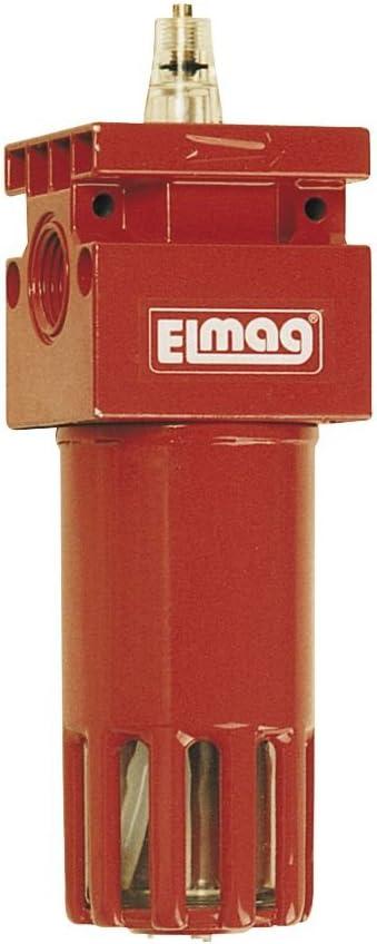 42535 ELMAG Automatischer Druckluft /Öler mit Anschlussgewinde 1//2 Zoll