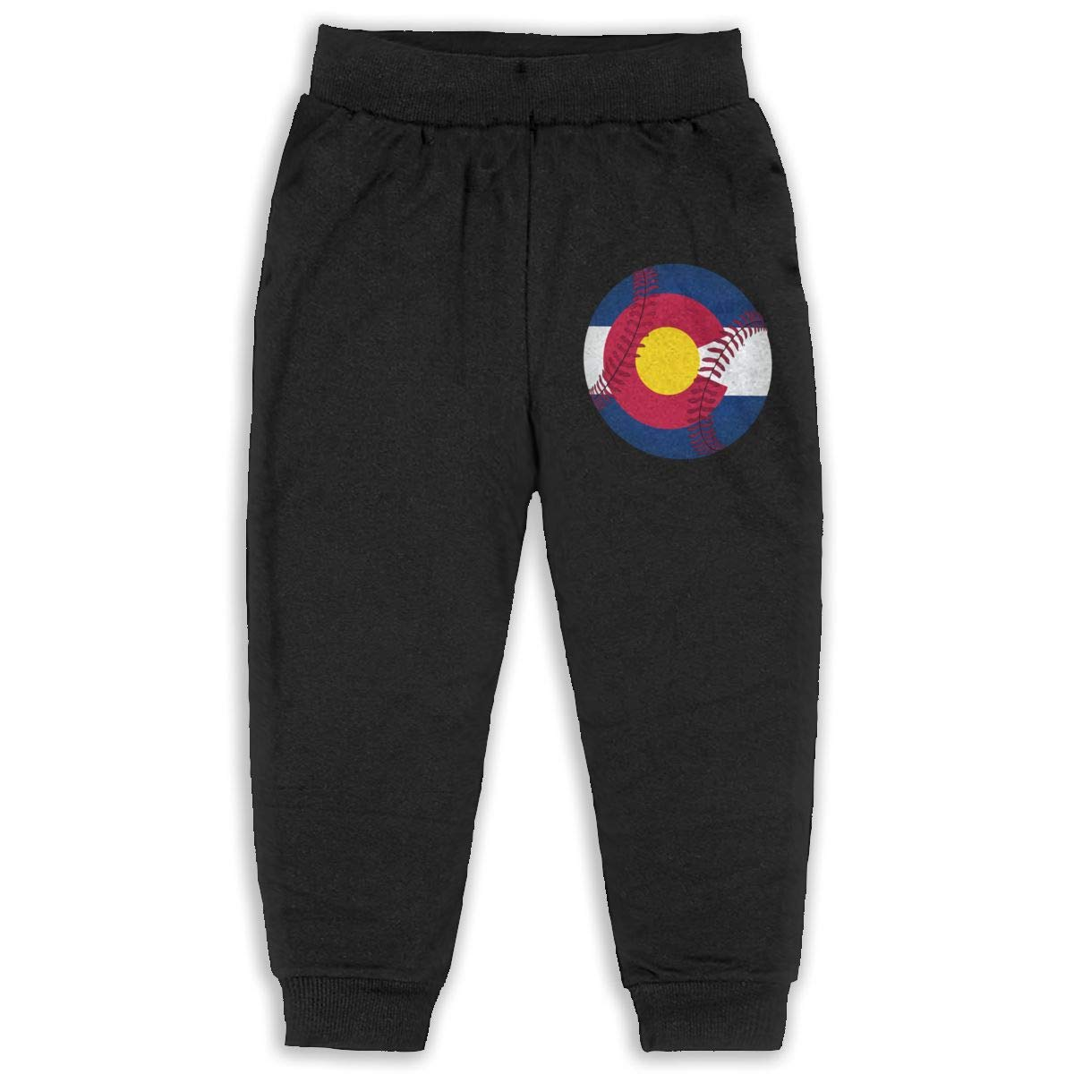 Cqelng Oii Funny Colorado Baseball 2-6T Boys Active Joggers Soft Sweatpants