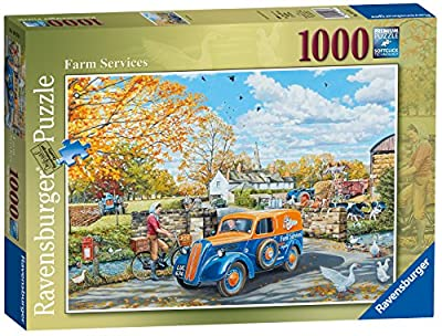 Ravensburger Farm Services, 1000pc Jigsaw Puzzle
