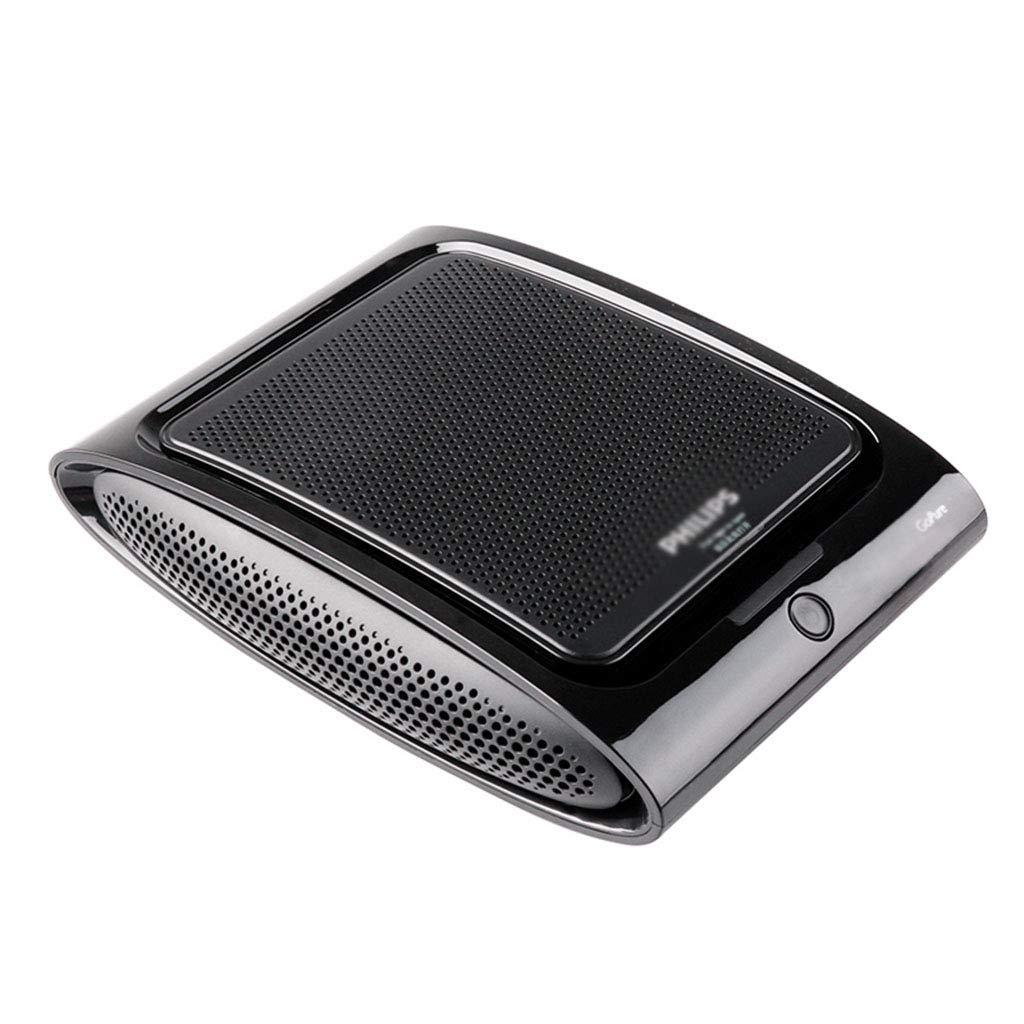 車の空気清浄機ACA251車の酸素バーホルムアルデヒドPM2.5スモッグに加えて、アロマテラピー機能を持つにおいに加えて (Color : Black, Size : 21.6 * 17 * 6cm) 21.6*17*6cm Black B07HD1T5PR