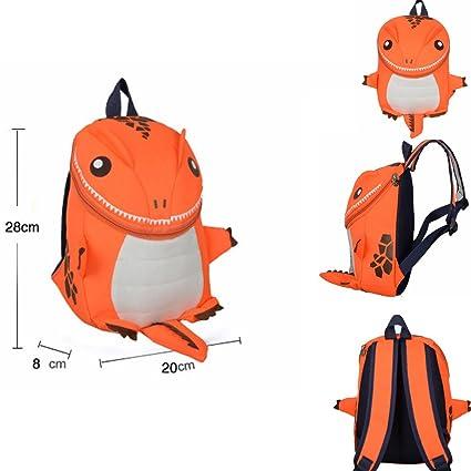 Amazon.com  Frealm Toddler Backpack Little Kids Travel Backpack Picnic Backpack  Cartoon Cute Dinosaur Preschool Backpack for Toddlers Kids Boys Girls ... e6278c830c17c