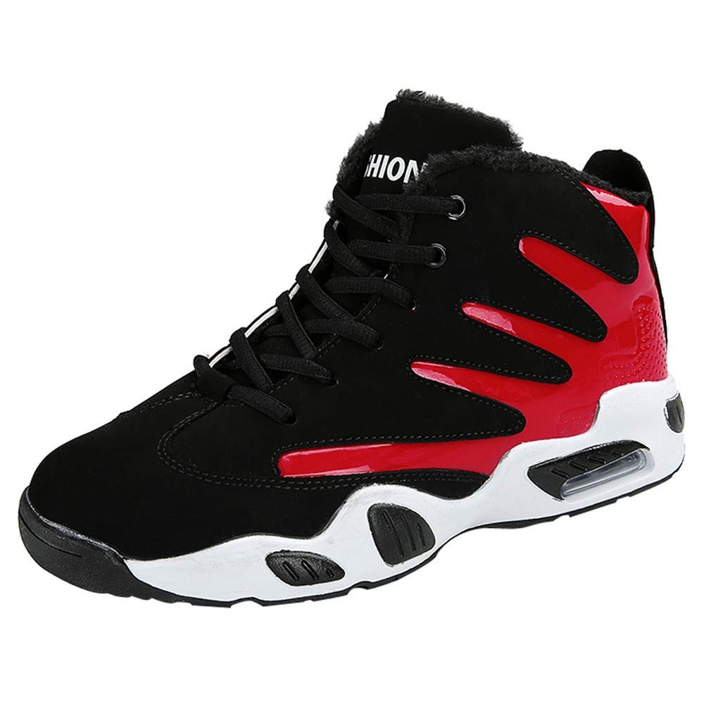 LuckyGirls Zapatos para Hombre Zapatillas de Correr Color de Mezcla Zapatillas Baloncesto Casual Calzado de Deporte Planos Transpirables Moda Bambas de ...