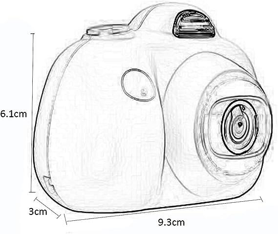 WENYC Mini cámara Digital para niños Pequeño segmento de Dibujos ...
