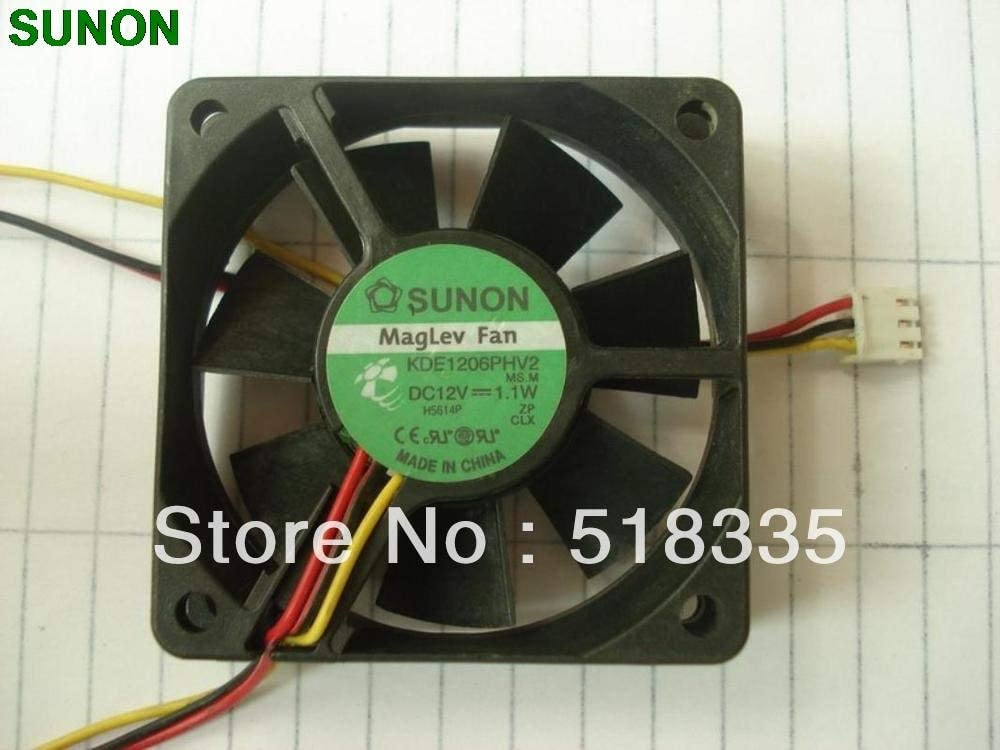 SUNON KDE1206PHV2 12V 1.1W 6CM 6015 606015MM axial cooling fan
