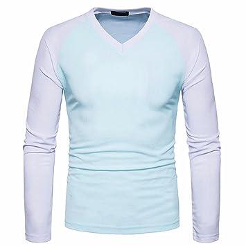 Hombres Blusa,Sonnena ❤ ❤ ❤ Camisa de Manga Larga Casual para