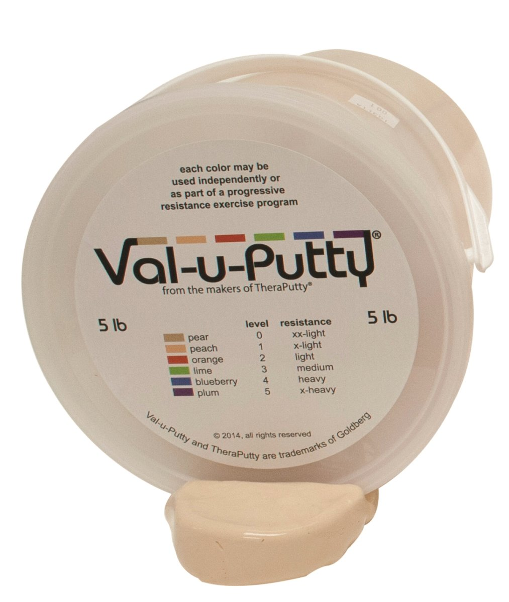 Val-u-Putty 10-3950 Exercise Putty, XX-Light, Pear, 5 lb.
