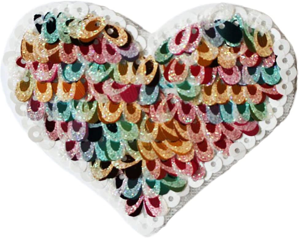 couleurs 1 8*9*5cm A outflower Kleidung Patches Sew On Patches Pack Aufn/äher Craft DIY Zubeh/ör Blume Form 9
