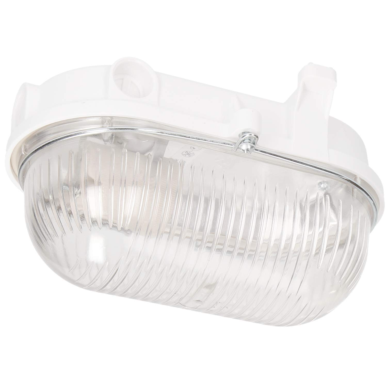 100W wei/ß Glas + Gitter Orno Buran E27 Wandleuchte Aussen//Kellerlampe IP54