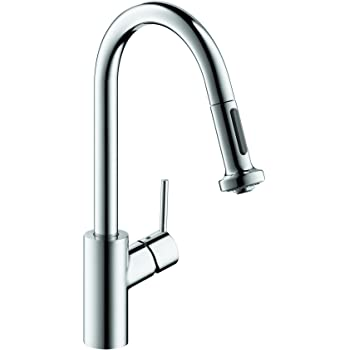 Hansgrohe Talis S High Arc Pull Out Kitchen Faucet