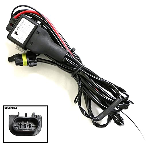 61D VWIpiPL._SX522_ amazon com ijdmtoy 12v 35w h13 9008 hi lo h l bi xenon hid  at crackthecode.co