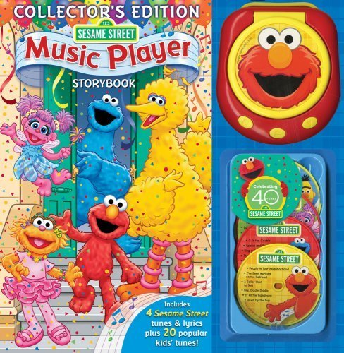 Street Sesame Music Player - Sesame Street Music Player Storybook [With Music Player & 4 CDs] by Farrah McDoogle (2009-07-14)