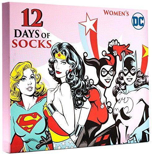 12 Days of Socks Women's DC Comics Size - Oak Mall Brook