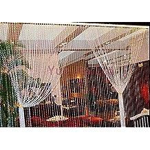 20 Meters Garland Diamond Strand Acrylic Crystal Bead Curtain Wedding DIY Decoration Chandelier Hanging Wedding Party Decoration