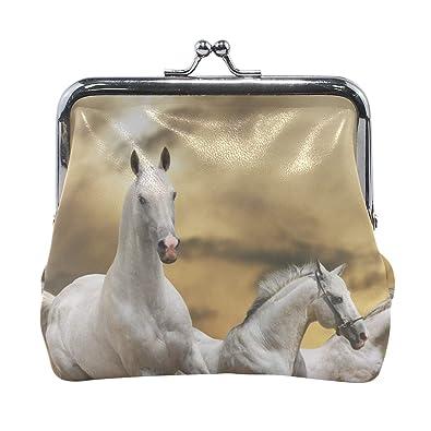 Amazon.com: Rh Studio Monedero monedero de caballo de ...