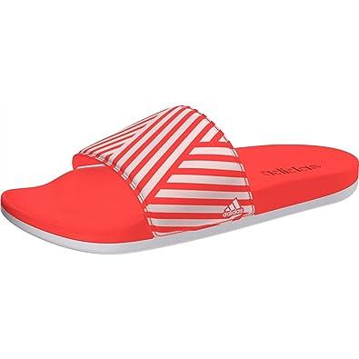 online store e1b98 08f6c adidas Damen Adilette CF+ Training GR W Flip-Flops, Orange (CorsenFtwbla