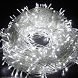 Outdoor LED String Lights 328FT 500LEDs - Lampwin 2017 New Design Cool White Fairy LED Starry String Lights for Christmas, Party, Home, Patio, Garden, Holiday, and Wedding Decoration