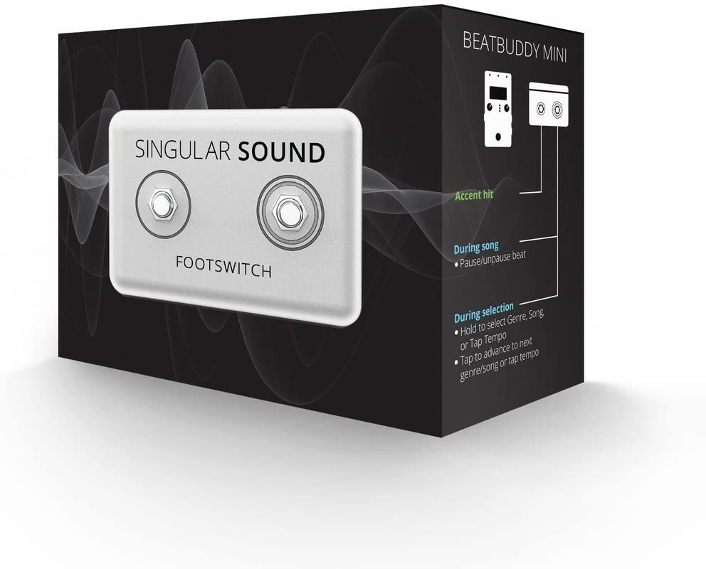 Official Beatbuddy Dual Footswitch/ /Accessory