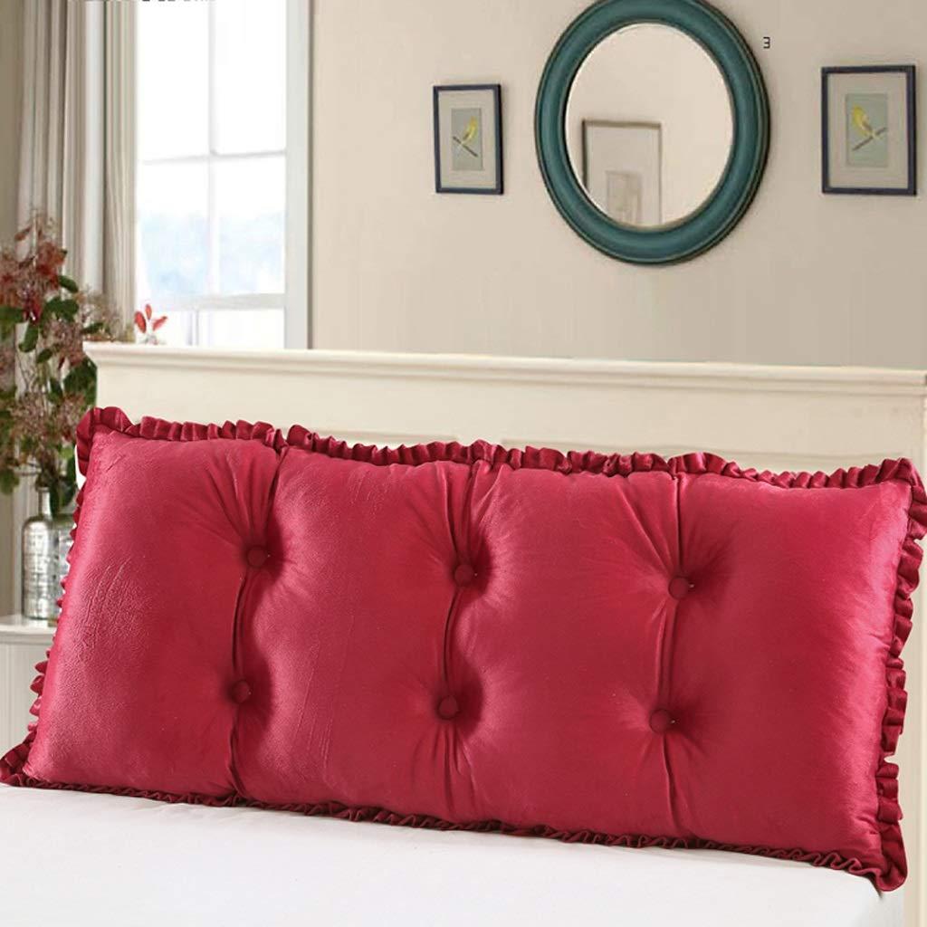 per il tuo stile di gioco ai prezzi più bassi GLL pillow Cuscino Cuscino Cuscino per Letto in Cotone, sfoderabile e Lavabile (colore   B, Dimensioni   120CM)  basso prezzo del 40%