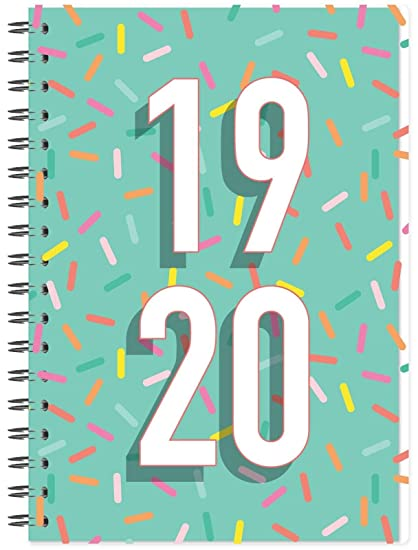 2019-2020 - Agenda académica (vista semanal, tamaño A5, año ...