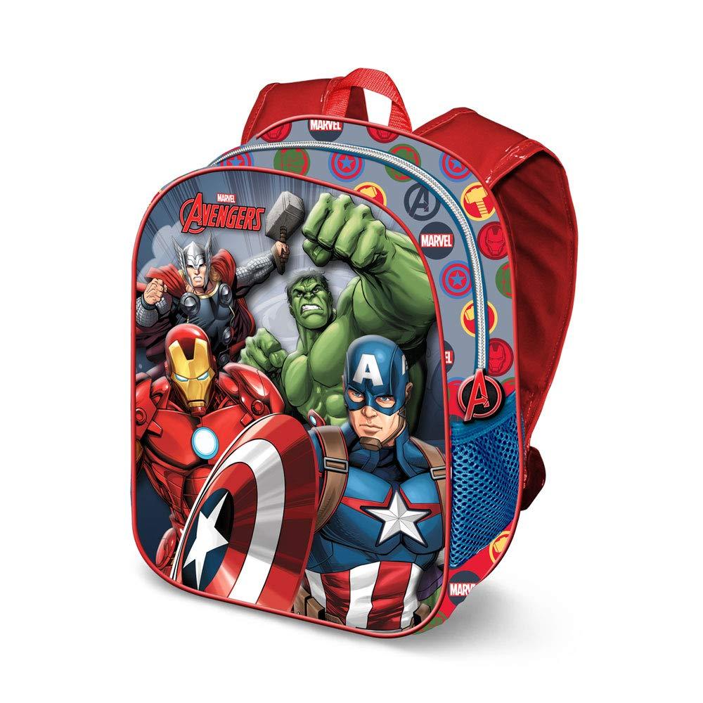 Karactermania Avengers Force-Sac à Dos 3D (Petit) Mochila Infantil 31 Centimeters 8.5 (Multicolour): Amazon.es: Equipaje
