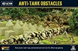 Bolt Action Anti-Tank Obstacles 1:56 WWII Military Wargaming Diorama Plastic Model Kit