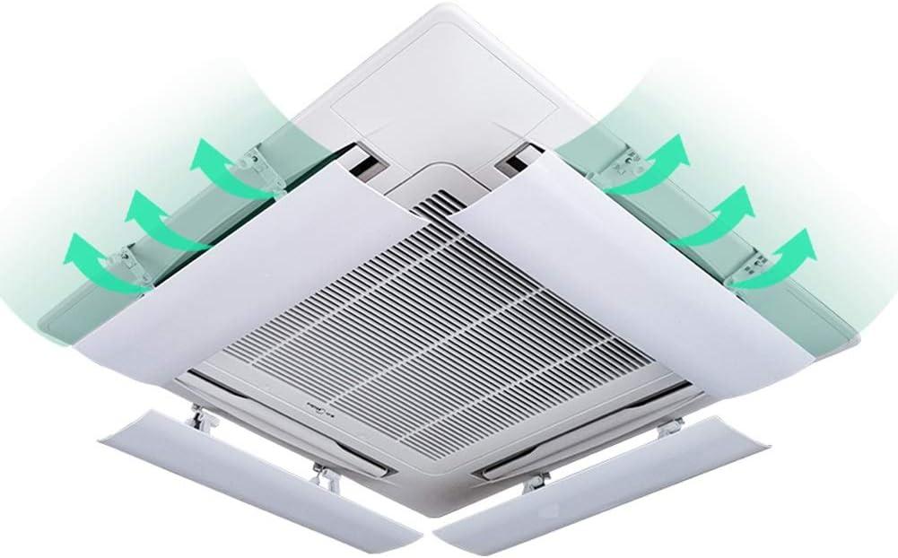 Aire Acondicionado Central Deflector de Viento Accesorios del acondicionador de Aire Antirretorno contra el Viento Blowles de protección (una Pieza) (Tamaño : 54cm): Amazon.es: Hogar