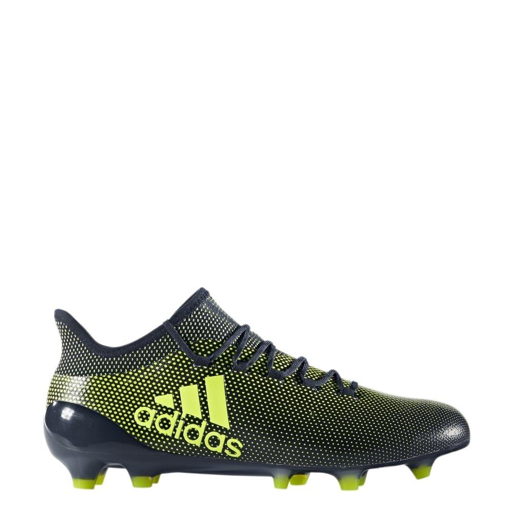 Adidas X 17.1 FG schwarz