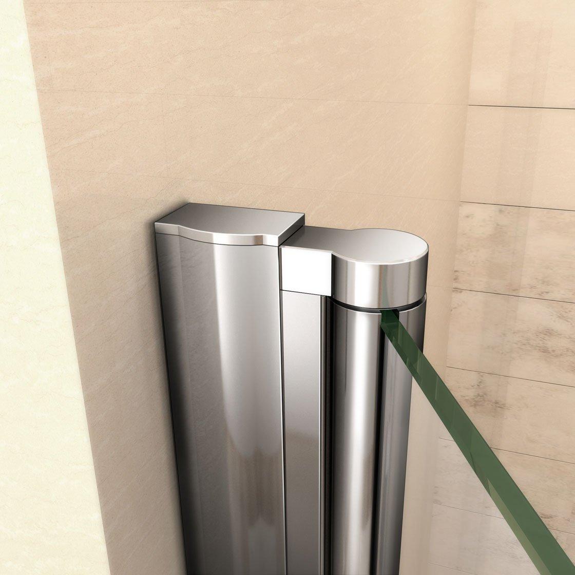 Mamparas de ducha pantalla ba/ño 6mm Easyclean vidrio 90x195cm