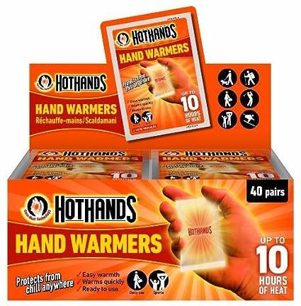 e6e379e0d36 Amazon.com   HeatMax 40 Pairs Hot Hands Instant Hand Warmers. Bulk ...