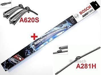 Limpiaparabrisas Bosch Aerotwin A620S, equipamiento completo ...