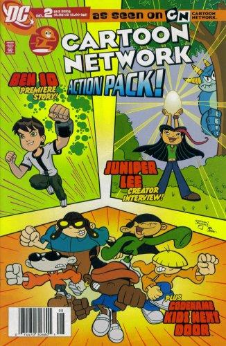Cartoon Network Action Pack! #2 August 2006 (Ben 10, Juniper Lee, & Codename Kids Next Door DC Comic -