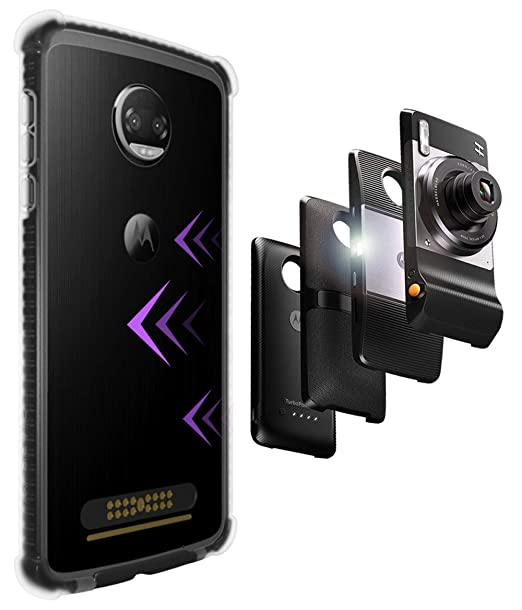 CaseWe - Funda Protectora para Motorola Moto Z2 Play para ...