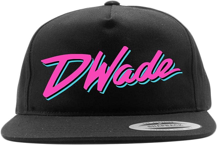 separation shoes 78694 d01f0 Amazon.com: Shedd Shirts Black Snapback Miami Wade D Wade ...