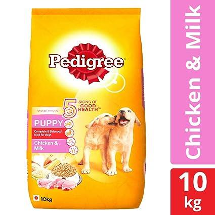 Buy Pedigree Puppy Dry Dog Food Chicken Milk 10 Kg Pack Online