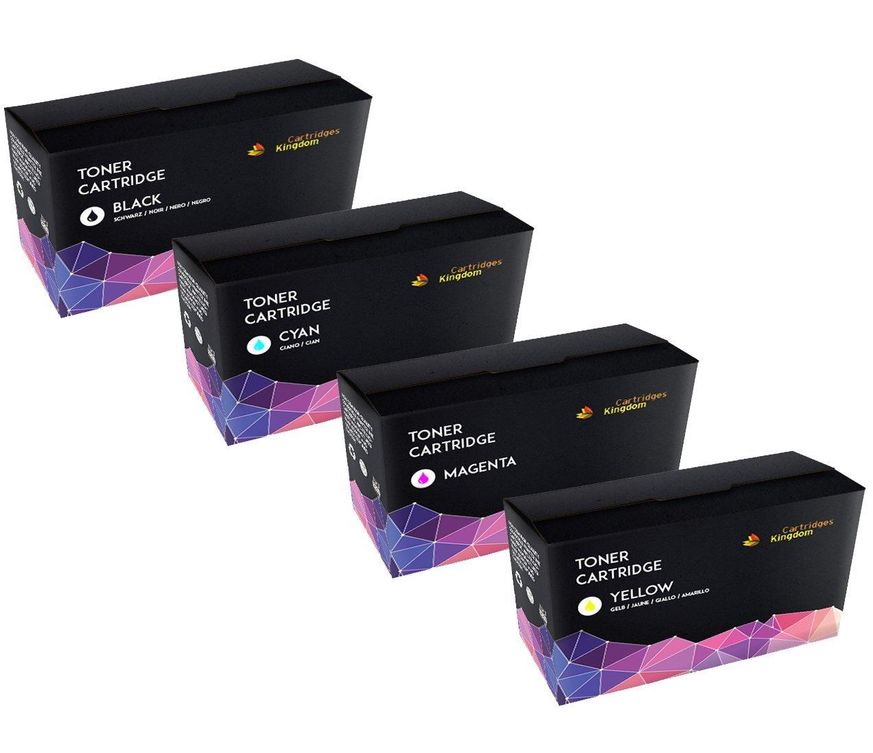 Cartridges Kingdom CLT-Y508L Giallo Toner compatibile per Samsung CLP-620ND, CLP-670N, CLP-670ND, CLX-6220FX, CLX-6250FX no Samsung Original