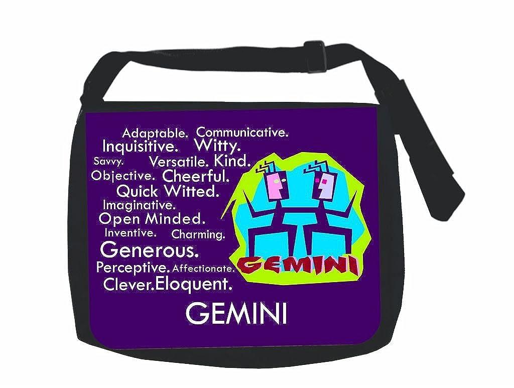 Zodiac Gemini Traits ジャックのコンセントInc。« -ノートパソコンメッセンジャーバッグラップトップ/ノートブックコンピュータ   B01KMXRVRO