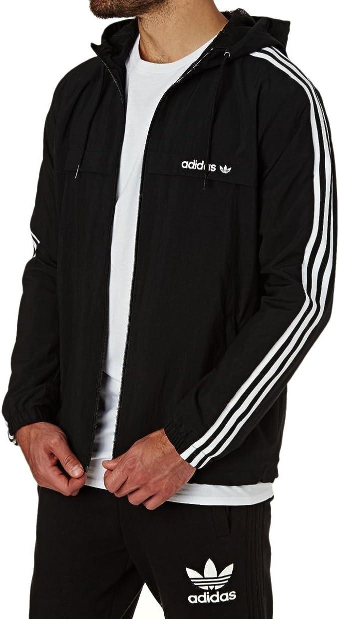 Adidas 3Striped Windbreaker Herren: : Bekleidung