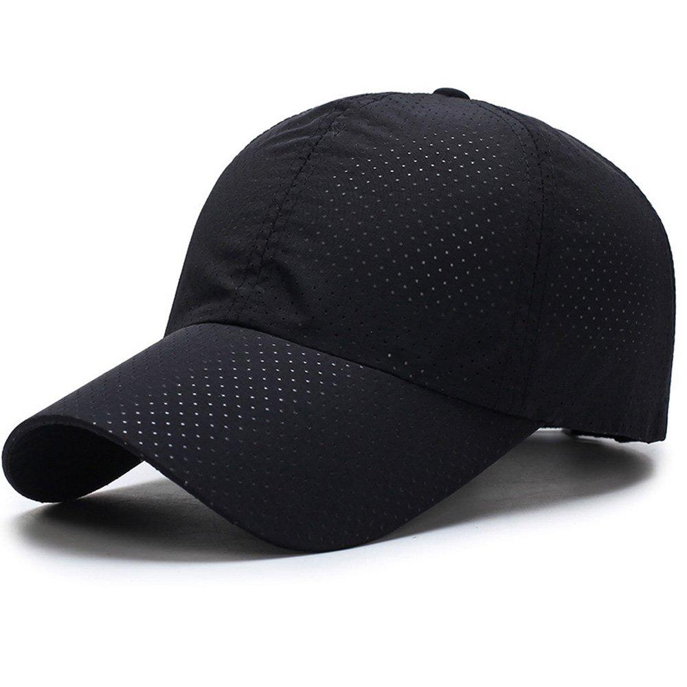 大量入荷 tentock速乾性ユニセックス通気性夏メッシュキャップスポーツHeadwear調整可能野球キャップ夏帽子メンズレディース7色の ブラック ブラック B07B4YQ6RG ブラック B07B4YQ6RG ブラック, 下田市:5bc3ab99 --- adornedu.com