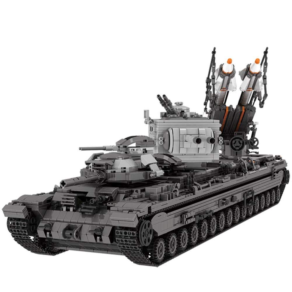 vendiendo bien en todo el mundo Yyz Serie Militar Militar Militar Militar Tanque Pesado KV-2 montado Bloques de construcción Infantil Educativo Juguetes niños  calidad auténtica