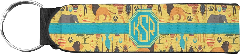 African Safari Keychain Fob (Personalized)