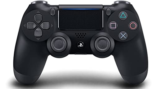 نتيجة بحث الصور عن ‪DualShock 4 Wireless Controller for PlayStation 4 - Jet Black (CUH-ZCT2‬‏