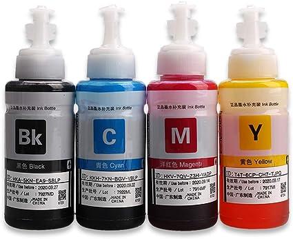 T664 botellas de tinta T6641 T6642, T6643 T6644 Compatible para ...