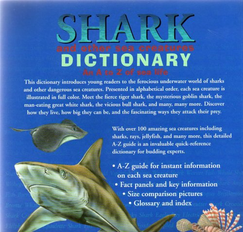 shark and other sea creatures dictionary an a to z of sea life  shark and other sea creatures dictionary an a to z of sea life an andromeda children s book clint twist robin bouttell et al com books