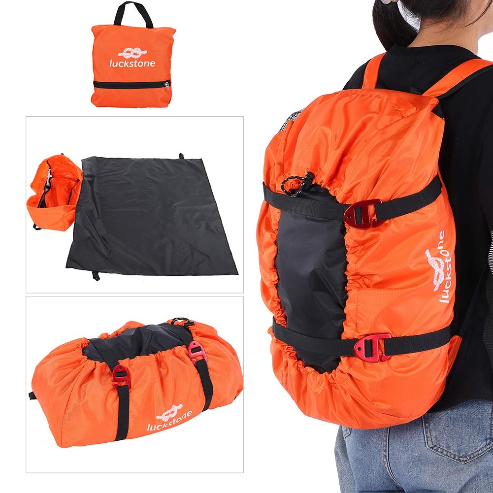 Folding Rope Cord Bag Equipment Carry Backpack for Outdoor Camping Hiking VGEBY Rock Climbing Backpack