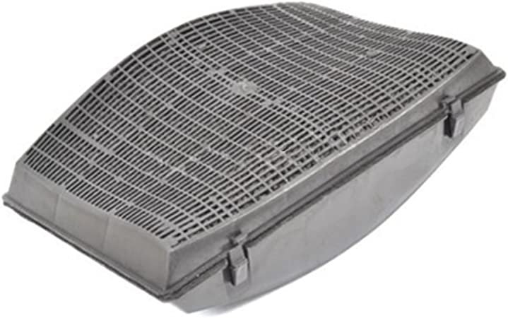 SPARES2GO Tipo 37 gris carbono filtro de aire y olor para Hotpoint-Ariston campana extractor ventilación: Amazon.es: Hogar